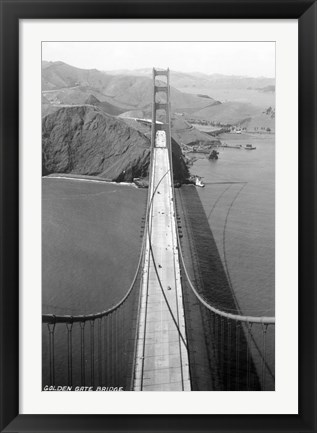 Framed Gold Gate Bridge Photo Print