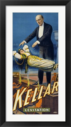 Framed Kellar Levitation Print