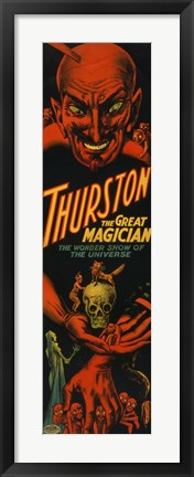 Framed Thurston the Great Magician Print