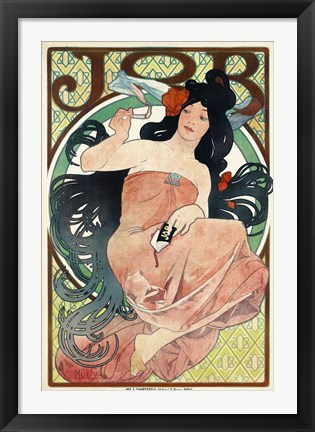 Framed Job Papers by Mucha Print