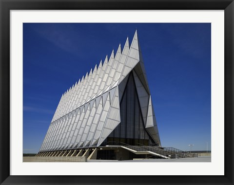 Framed Air Force Academy Chapel Coloradon Springs Print