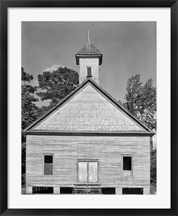 Framed Church, Southeastern U.S. Print