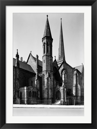 Framed St. Paul's Episcopal Cathedral, Buffalo Print