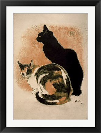 Framed Two Cats Print
