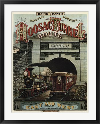 Framed Hoosac Tunnel Print