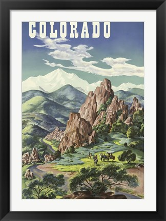 Framed Colorado Print