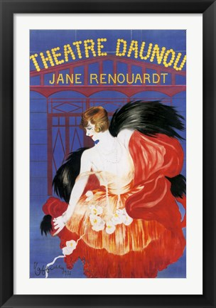 Framed Theater Daunou Print