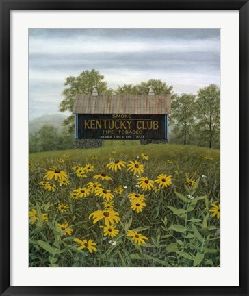 Framed Field Of Memories Print