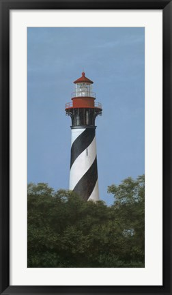Framed St. Augustine Light Print
