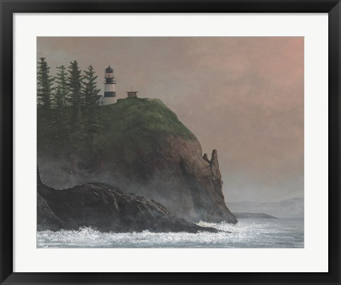 Framed Cape Disappointment Light Print