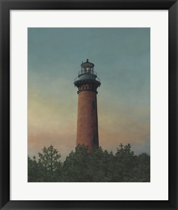 Framed Currituck Beach Lighthouse Print