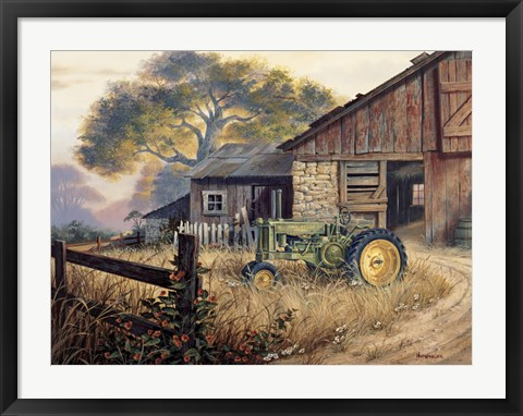 Framed Deere Country Print