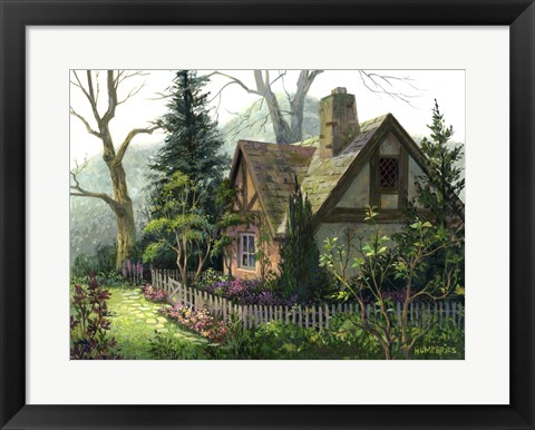 Framed Hidden Cottage Print