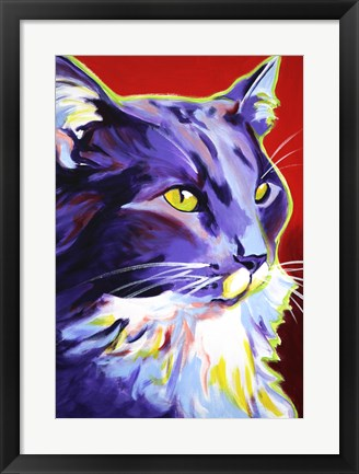 Framed Cat Kelsier Print
