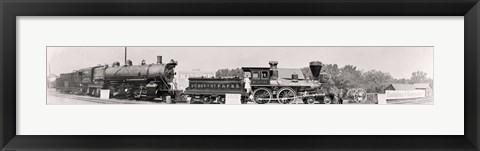 Framed Locomotive1913 Print