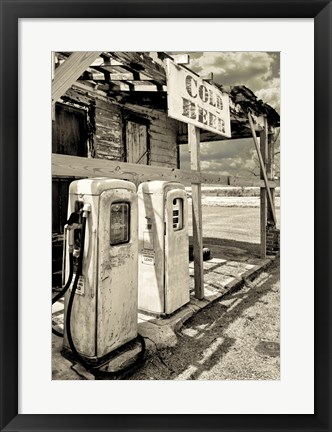 Framed Rest Stop I Print