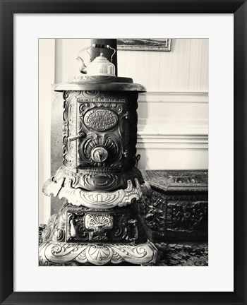 Framed Old Fashioned Stove Print
