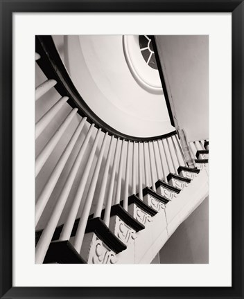 Framed Winding Staircase Print