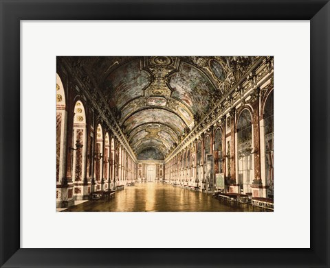 Framed Hall of Mirrors Versailles Print