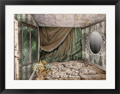 Framed Ravaged Beauty Print