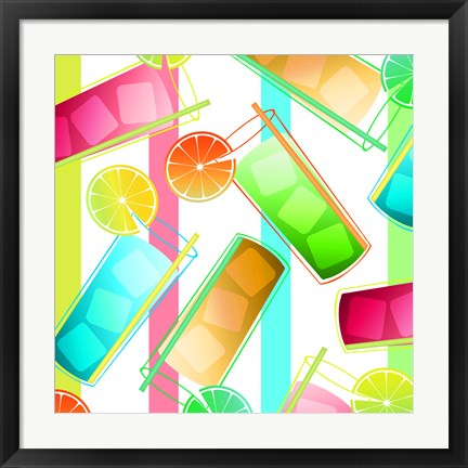 Framed Summer Fun III Print