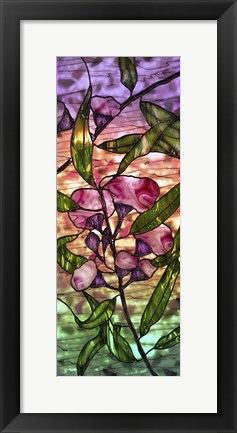 Framed Color Triptych Print