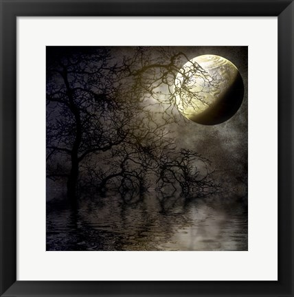 Framed Last Chance Moon Print