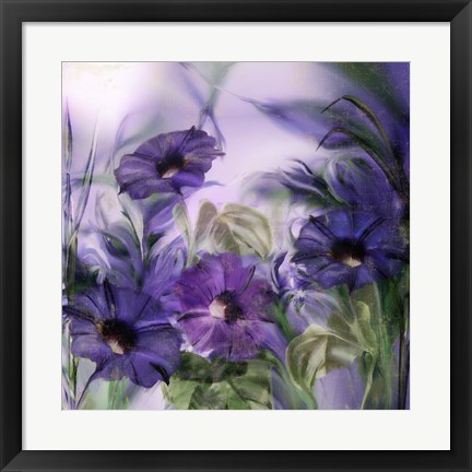 Framed Purple Dream I Print