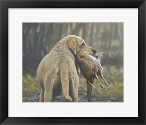 Framed Hunter 1 Print