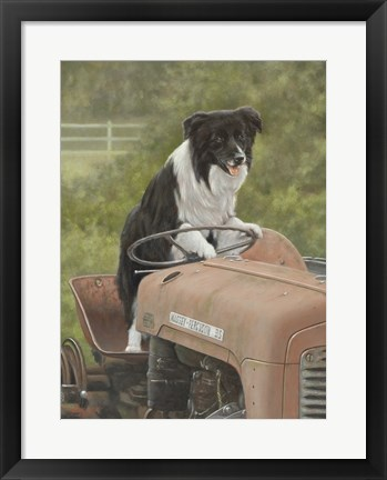 Framed Steering Print