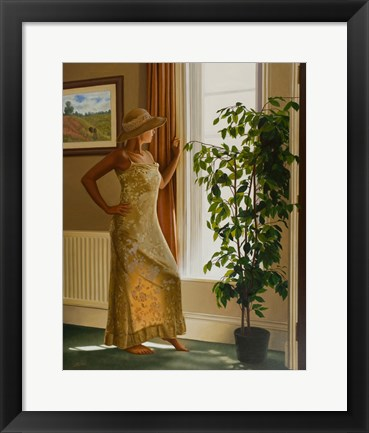 Framed By the Window 1 Print