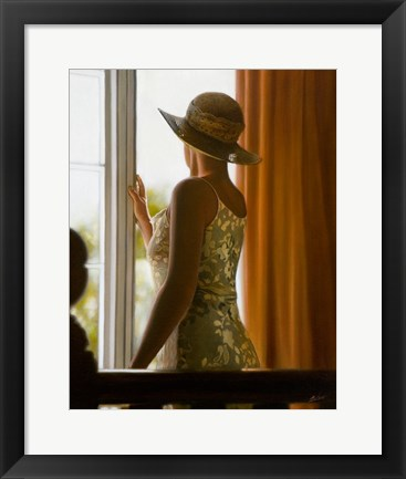 Framed By the Window 2 Print