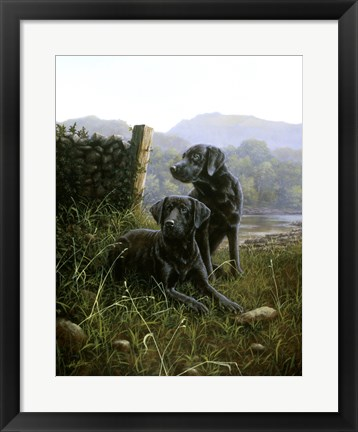 Framed Country Companions 2 Print