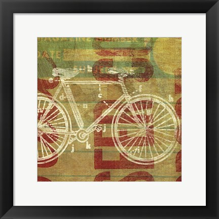 Framed Cycles Per Second Print