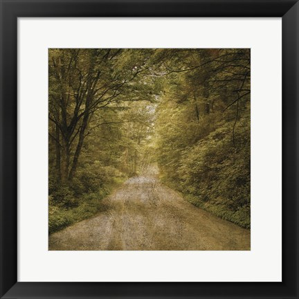 Framed Flannery Fork Road No. 1 Print
