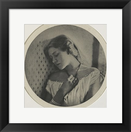 Framed Ellen Terry At The Age Of Sixteen, 1864 Print