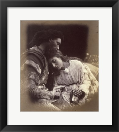 Framed Parting Of Lancelot And Queen Guenievre,  1874-1875 Print