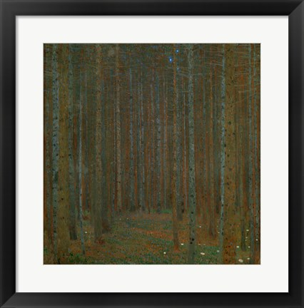 Framed Tannenwald (Pine Forest), 1902 Print