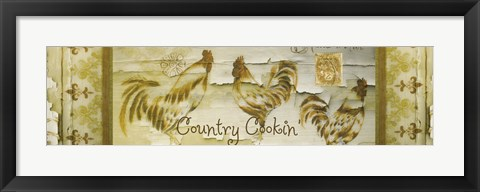 Framed Country Cookin Print