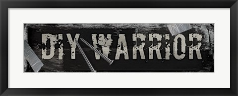 Framed Warrior Print
