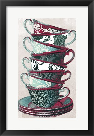 Framed Afternoon Tea II Print