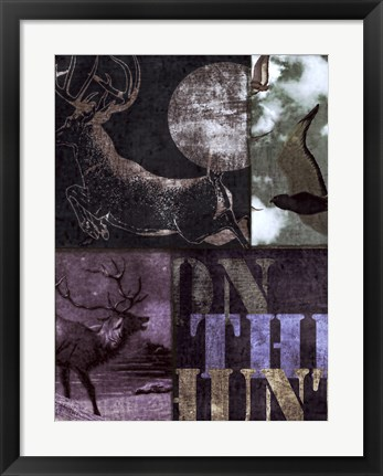 Framed On the Hunt II Print