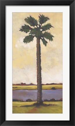 Framed Summer Day Palm One Print
