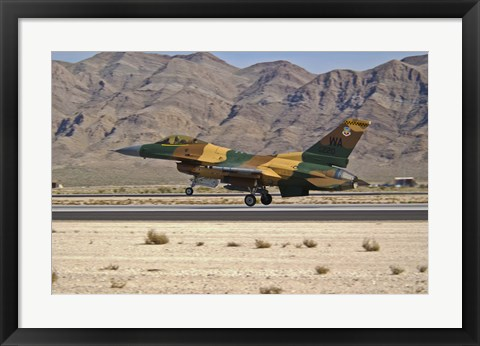 Framed US Air Force F-16 Print