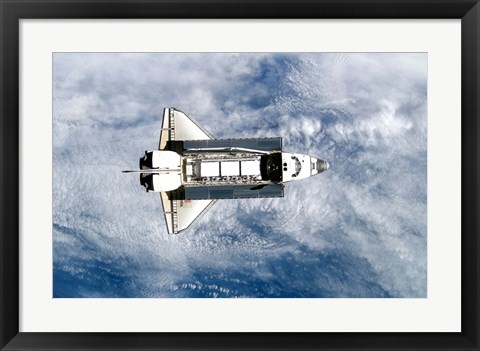 Framed Space Shuttle Atlantis Print
