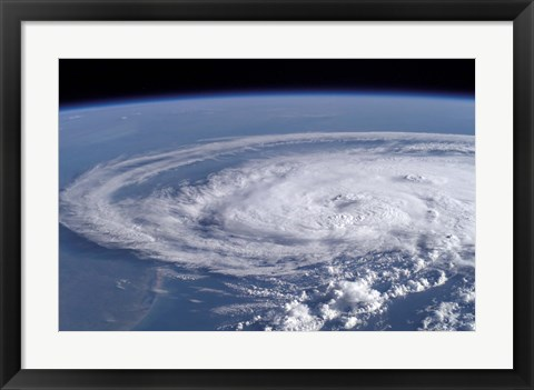 Framed Tropical Storm Claudette Print