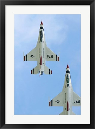 Framed United States Air Force Demonstration Team Thunderbirds Print