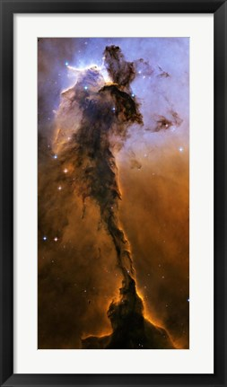 Framed Stellar Spire in the Eagle Nebula Print