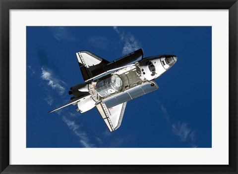 Framed Space Shuttle Discovery Print