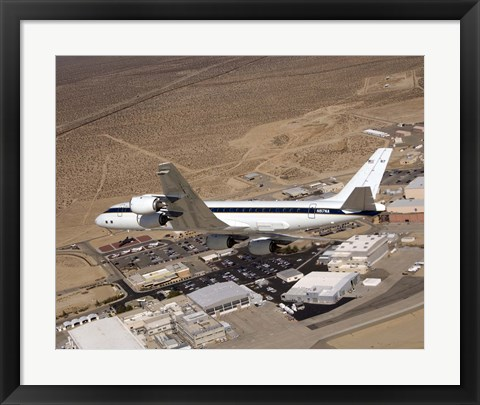 Framed NASA's DC-8 Airborne Science Lab Print